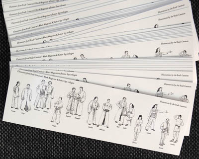 character bookmark