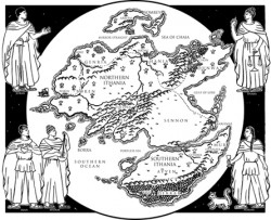 Age of the five map