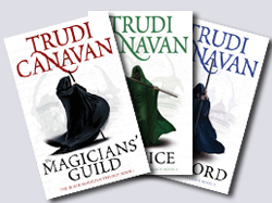 Black Magician Trilogy covers